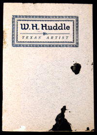 A group of Three Items, a Booklet, Typed Letter Signed, and Autograph Letter Signed, Relating to Texas Art History