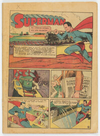 Action Comics #14 (DC, 1939) Condition: Coverless