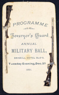 Programme: Governors Guard Annual Military Ball