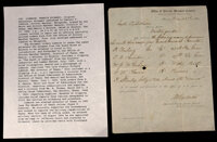 Orders Sent to Governor Francis R. Lubbock