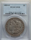Morgan Dollars: , 1895-O $1 VF35 PCGS. PCGS Population: (463/5025). NGC Census: (229/3999). CDN: $290 Whsle. Bid for NGC/PCGS VF35. Mintage 4...