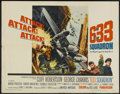 "Movie Posters:War, 633 Squadron (United Artists, 1964). Half Sheet (22"" X 28"").War...."