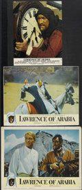 "Movie Posters:Academy Award Winner, Lawrence of Arabia (Columbia, 1962). Lobby Cards (2) (11"" X 14"" and10.25"" X 13"") and British Color Still (8.5"" X 11""). Acad... (Total:3 Items)"