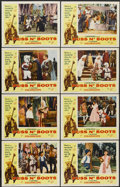 "Movie Posters:Fantasy, Puss n' Boots (K. Gordon Murray, 1963). Lobby Card Set of 8 (11"" X14""). Fantasy.... (Total: 8 Items)"