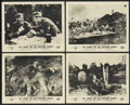 """Movie Posters:War, All Quiet on the Western Front (Universal, R-1950s). British Frontof House Lobby Cards (4) (8"""" X 10""""). War.... (Total: 4 Items)"""