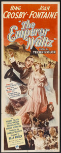 """Movie Posters:Musical, The Emperor Waltz (Paramount, 1948). Insert (14"""" X 36""""). Musical...."""