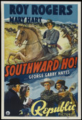 "Movie Posters:Western, Southward, Ho! (Republic, 1939). One Sheet (27"" X 41""). Western...."