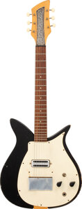 Musical Instruments:Electric Guitars, 1957 Rickenbacker Combo 900 Black Solid Body Electric Guitar, Serial #N/A.. ...