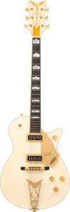 Musical Instruments:Electric Guitars, 2002 Gretsch 6134 White Penguin Solid Body Electric Guitar, Serial #JT02110581.. ...