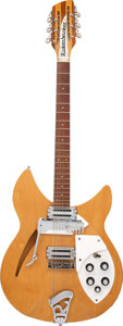 Musical Instruments:Electric Guitars, 1967 Rickenbacker 366/12 Convertible Mapleglo Semi-Hollow Body Electric Guitar, Serial #GB 760.. ...