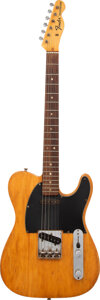 Musical Instruments:Electric Guitars, 1969 Fender Telecaster Natural Solid Body Electric Guitar, Serial #229940.. ...