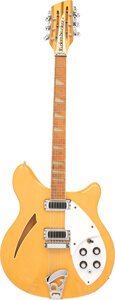Musical Instruments:Electric Guitars, 1983 Rickenbacker 360/12 Mapleglo Semi-Hollow Body Electric Guitar, Serial #WB 212.. ...