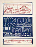 Music Memorabilia:Posters, John Coltrane, Miles Davis, Muddy Waters 1965 Concert Program....