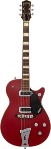 Musical Instruments:Electric Guitars, 1956 Gretsch 6131 Jet Firebird Red Solid Body Electric Guitar, Serial #18106.. ...
