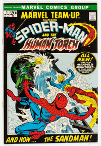 Marvel Team-Up #1 Spider-Man and Human Torch (Marvel, 1972) Condition: VF-