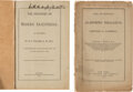 Books:Medicine, Two Medical Imprints Signed by Their Author.... (Total: 2 )