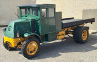 Historic and Fully Restored Mack Model AC Bulldog Prime Mover Truck, 1926-1927 A