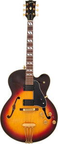 Musical Instruments:Electric Guitars, 1977 Gibson ES-350T Sunburst Semi-Hollow Body Electric Guitar, Serial #72907122.. ...