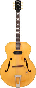 Musical Instruments:Electric Guitars, circa 1948 Gibson ES-300 Natural Archtop Electric Guitar, Serial #N/A.. ...