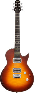 Musical Instruments:Electric Guitars, 2007 Taylor SB1-S Sunburst Solid Body Electric Guitar, Serial #200710119933.. ...