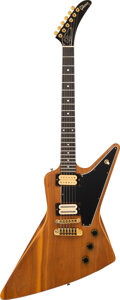 Musical Instruments:Electric Guitars, 1979 Gibson Explorer II (E2) Natural Solid Body Electric Guitar, Serial #72639037.. ...