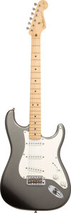 Musical Instruments:Electric Guitars, 2006 Fender Eric Clapton Stratocaster Pewter Solid Body Electric Guitar, Serial #SZ6285127.. ...
