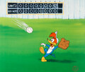 """Animation Art:Limited Edition Cel, """"Fly Ball"""" Woody Woodpecker Limited Edition Cel (Walter Lantz Studios, 1992)...."""