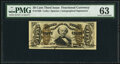 Fractional Currency:Third Issue, Fr. 1328 50¢ Third Issue Spinner PMG Choice Uncirculated 63.. ...