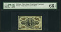 Fractional Currency:Third Issue, Fr. 1255 10¢ Third Issue PMG Gem Uncirculated 66 EPQ.. ...