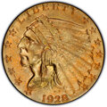 Indian Quarter Eagles, 1928 $2 1/2 MS65+ PCGS. CAC. 1928 $2 1/2 MS65+ ...