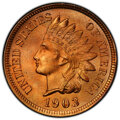 Indian Cents: , 1903 1C MS66 Red PCGS. PCGS Population: (86/12 and...