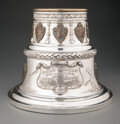 Silver & Vertu, A Large Dieges & Clust Silver-Plated and Bronze Borough of Brooklyn Lacrosse Championship Trophy, New York, early 20th centu...