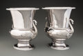 Silver & Vertu, A Pair of Gianmaria Buccellati Two-Handled Silver Wine Coolers, Bologna, Italy, circa 1985. Marks: (M-crown-C), 925, (st... (Total: 2 )