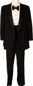 """Football Collectibles:Uniforms, 1987 Jimmy """"The Greek"""" Snyder Personally Worn Tuxedo and E..."""