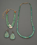 American Indian Art:Jewelry and Silverwork, Three Southwest Jewelry Items... (Total: 3 )