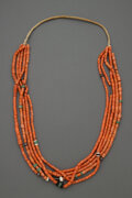 American Indian Art:Jewelry and Silverwork, A Pueblo Necklace...