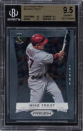 Baseball Cards:Singles (1970-Now), 2012 Panini Prizm Mike Trout #50 BGS Gem Mint 9.5....