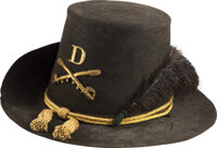 "Cavalry Hardee Hat with ""Jeff Davis"" Emblem"