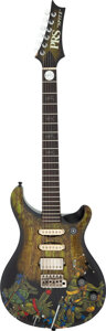 Musical Instruments:Electric Guitars, 2005 Paul Reed Smith (PRS) Custom Dan Spitz (Anthrax) Solid Body Electric Guitar, Serial #5 95626.. ...