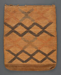 American Indian Art:Pipes, Tools, and Weapons, A Nez Perce Cornhusk Bag...