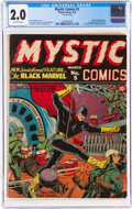 Golden Age (1938-1955):Superhero, Mystic Comics #5 (Timely, 1941) CGC GD 2.0 Off-white pages....