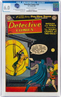 Detective Comics #187 (DC, 1952) CGC FN 6.0 Off-white to white pages