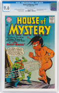 Silver Age (1956-1969):Science Fiction, House of Mystery #143 (DC, 1964) CGC NM+ 9.6 Cream to off-white pages....