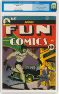 Golden Age (1938-1955):Superhero, More Fun Comics #67 (DC, 1941) CGC FN/VF 7.0 Cream to off-...