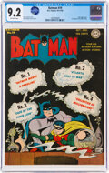 Golden Age (1938-1955):Superhero, Batman #19 (DC, 1943) CGC NM- 9.2 Off-white pages....