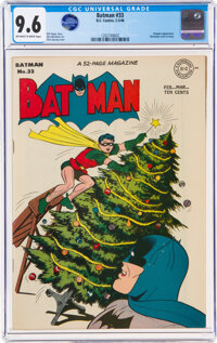 Batman #33 (DC, 1946) CGC NM+ 9.6 Off-white to white pages