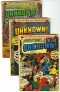 Golden Age (1938-1955):Horror, Adventures Into The Unknown Group (ACG, 1951-53) Condition: AverageGD....