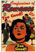 Golden Age (1938-1955):Romance, Confessions Of Romance #7 (Star Publications, 1953) Condition:FN-....