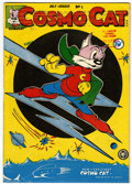 Golden Age (1938-1955):Funny Animal, Cosmo Cat #1 (Fox, 1946) Condition: FN-....