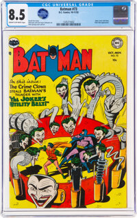 Batman #73 (DC, 1952) CGC VF+ 8.5 Cream to off-white pages